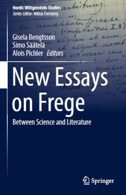 coperta new essays on frege