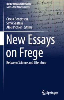 coperta new essays on frege