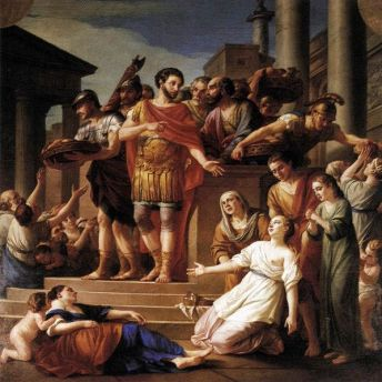 598px-Marcus_Aurelius_Distributing_Bread_to_the_People_1765_Joseph-Marie_Vien