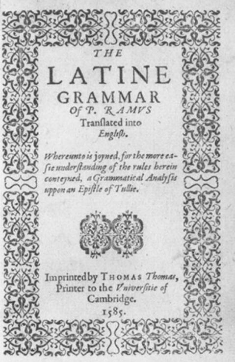 ramus grammar