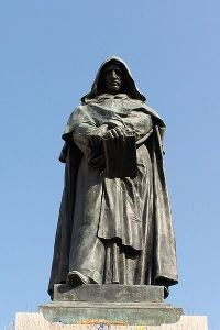 bruno statue