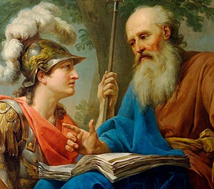 Marcello_Bacciarelli_-_Alcibiades_Being_Taught_by_Socrates,_1776-77_crop