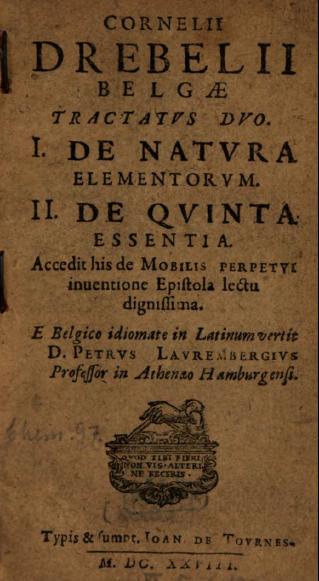 drebbel book