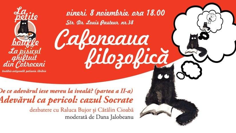Când adevărul iese la iveală și se naște filosofia: cazul Socrate la Cafeneauafilosofică