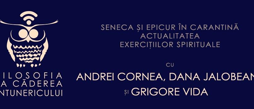 Cafeneaua filosofică în format online: Seneca și Epicur în carantină. Actualitatea exercițiilorspirituale