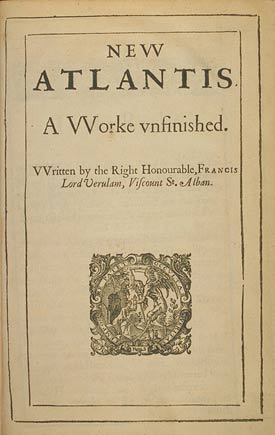 Hamilcar's Books: New Atlantis - Francis Bacon